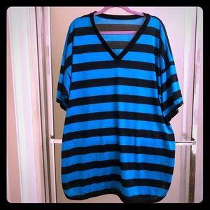 Lady Cameo Dallas Striped nightshirt